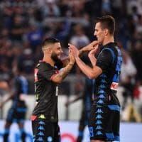 Lazio-Napoli 1-2: buona la prima per Ancelotti, Insigne punisce i biancocelesti