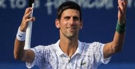Djokovic primo finalista  Cilic battuto in tre set