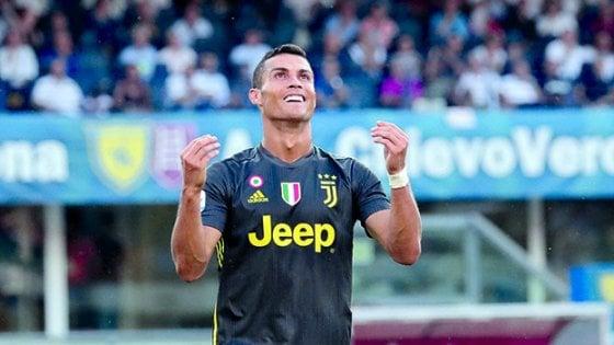 Juventus, esordio all'asciutto per CR7. Ma i numeri sono dalla sua parte
