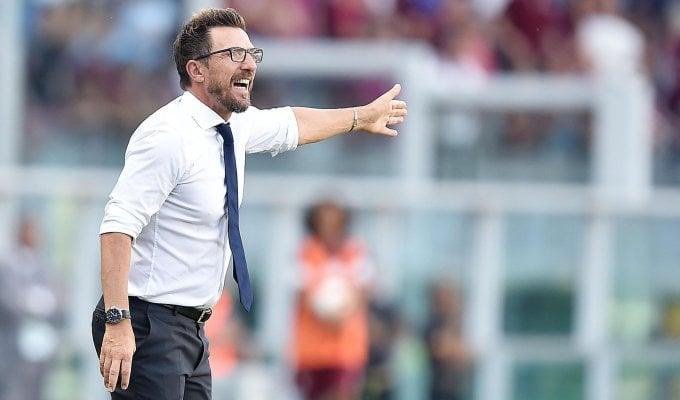 """Roma, Di Francesco: """"Vittoria pesante ma dobbiamo crescere"""""""