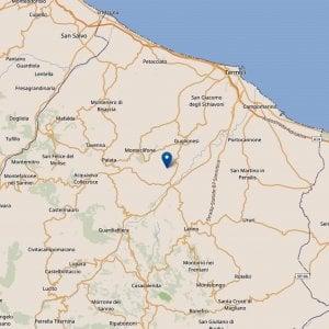 Terremoto in Molise, nuova scossa di magnitudo 3 nella notte