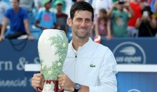 Tennis, Cincinnati: Djokovic trionfa su Federer e diventa Golden Masters