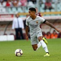 Roma, basta un assist a Dzeko: già scoppiata la Kluivert-mania