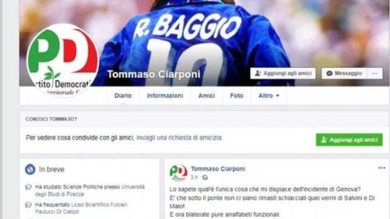 Insulti a Salvini e Di Maio da falso profilo Pd: l'ultima frontiera della guerra dei troll sui social