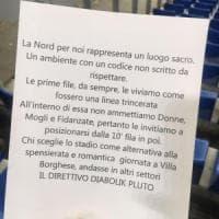 Lazio, volantino sessista in curva Nord: la Figc apre un'inchiesta