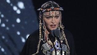 Mtv Awards, Madonna omaggia Aretha Franklin ed è polemica