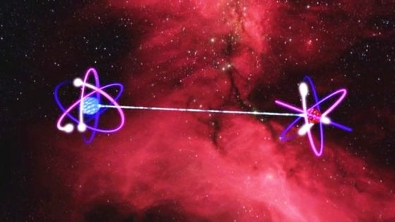 Confermato l'abbraccio a distanza tra particelle che inquietava Einstein