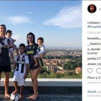 Cristiano Ronaldo è sempre più dentro la Juventus: tutta la famiglia in bianconero
