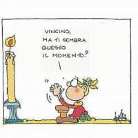Addio al vignettista Vincino, l'omaggio di Ellekappa