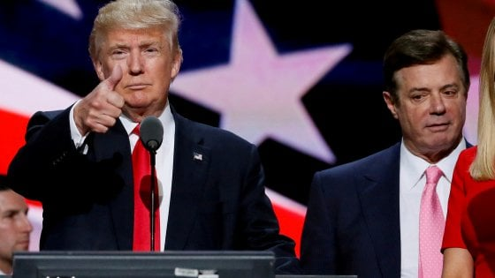 """Usa, la reazione di Trump: """"Rispetto per Manafort. E Cohen non è un bravo avvocato"""""""