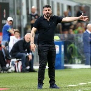 Milan, da Gattuso ad Ancelotti: con il Napoli la gara degli intrecci