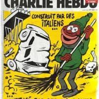 Ponte Morandi, la macabra ironia di Charlie Hebdo