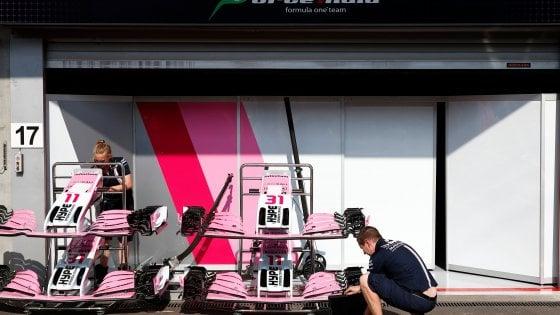 Formula Uno, il caso Force India: cambia nome e perde i punti