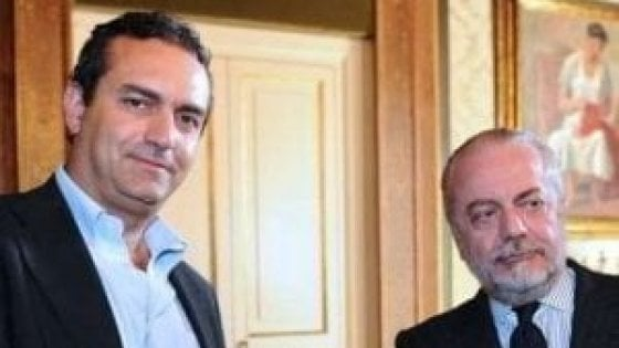 """Napoli, De Magistris contro De Laurentiis: """"Allo stadio mai più accanto a lui"""""""