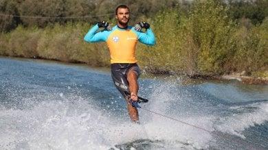Medaglia d'oro al merito per Daniele, il più grande sciatore nautico paralimpico