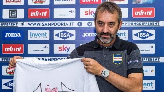"""Sampdoria, Giampaolo pronto a tornare in campo: """"Giusto fermarsi, debutto è gioia"""""""