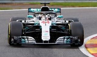 F1, Gp Belgio: Hamilton è in pole davanti a Vettel