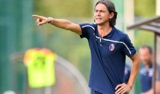 """Bologna, Inzaghi: """"Peccato per le porte chiuse ma dobbiamo fare una grande gara"""""""