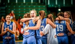 Basket, Europeo under 16: storico oro per le azzurre, R. Ceca ko 60-52