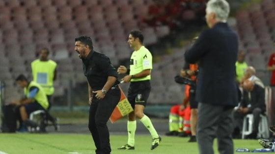 """Milan, Gattuso: """"Colpa mia, ma abbiamo perso per i soliti difetti"""""""