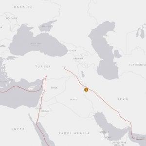 Terremoti, sisma di magnitudo 6 in Iran: morto un uomo, 90 i feriti