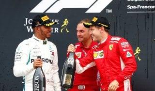 Formula Uno, Gp Belgio: trionfa Vettel, Hamilton è secondo