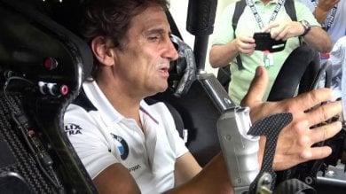"""Zanardi in gara al DTM di Misano: """"Vi spiego come guido senza protesi"""""""