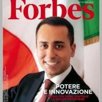 Di Maio in copertina su Forbes. E la foto è di Oliviero Toscani