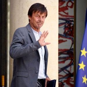 Francia, si dimette il ministro dell'Ambiente Hulot