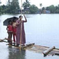 India, Kerala: Kuttanadu è il  suo granaio ormai distrutto dall'alluvione