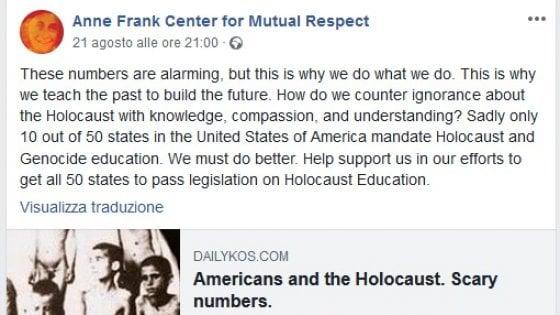 Facebook censura una foto dell'Olocausto. Poi si scusa