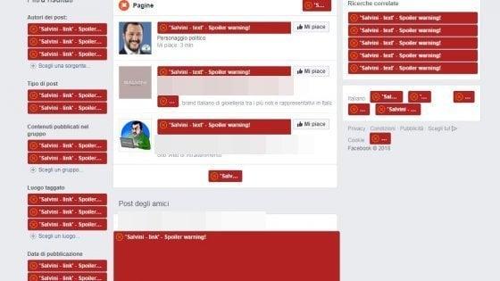 """""""Così ho eliminato Salvini dalla mia vita digitale"""""""