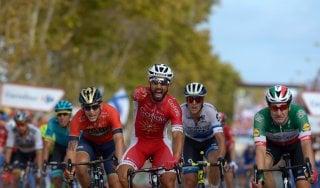 Vuelta: Bouhanni brucia Van Poppel e Viviani, Molard resta leader