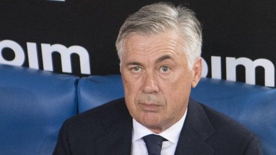 """Napoli, Ancelotti: """"È presto per pensare alla classifica. Con la Samp farò qualche cambio"""""""