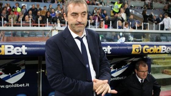 Sampdoria poca fiducia per Giampaolo''Quasi impossibile battere il Napoli