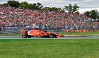 Gp Monza: prima fila tutta Ferrari. Raikkonen in pole, poi Vettel