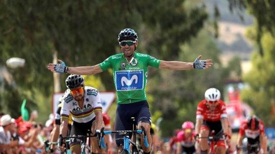 Ciclismo, Vuelta: arrivo grandi firme, Valverde precede Sagan