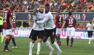 Bologna-Inter 0-3: Nainggolan colpisce subito, i nerazzurri si sbloccano
