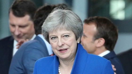 """Brexit, May dice no a un secondo referendum: """"Non scenderò a compromessi"""""""