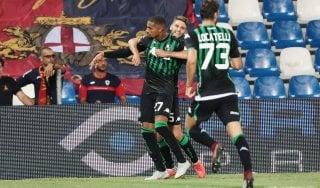 Sassuolo-Genoa 5-3: show di Boateng, neroverdi alle spalle della Juve