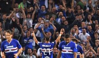 Sampdoria-Napoli 3-0, Defrel e Quagliarella travolgono gli azzurri