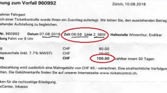 Svizzera, sale sul bus 4 minuti in anticipo: multata anziana di 92 anni