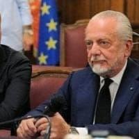 Napoli, De Laurentiis chiede scusa: