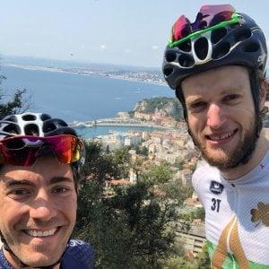 Ciclismo: Larry e Conor, disoccupati all'avventura: 1140 km sulle Alpi