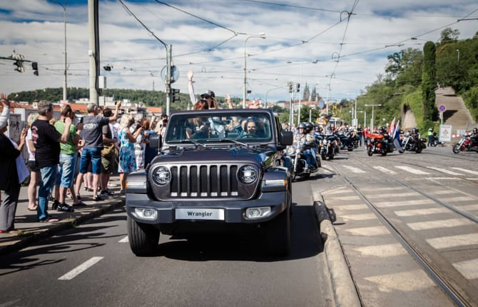 European Bike Week 2018, Jeep fa festa