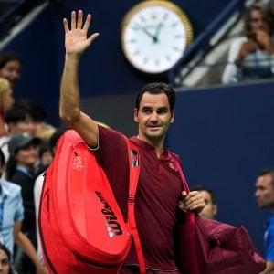 Anche Federer va in confusione