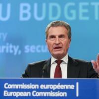Oettinger, commissario Ue: