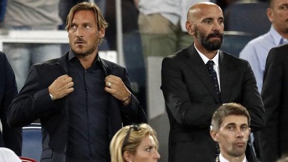 Roma: Totti, la Juve è fuori concorso