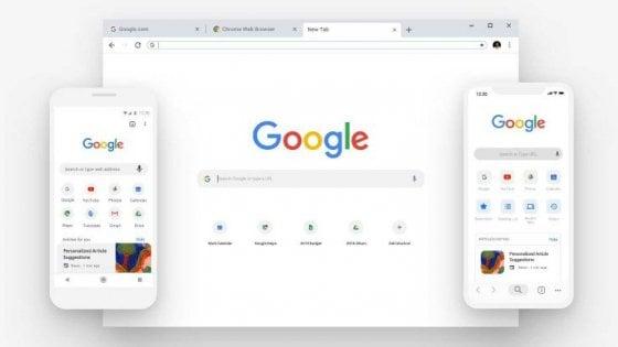 Chrome cambia pelle: più scorciatoie e meno spigoli