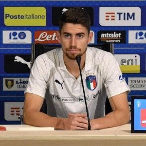 """Nazionale, Jorginho: """"Distanza con le big non è tanta, possiamo risollevarci"""""""